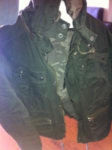 Men's Fatigue Jacket Army Style Jacket