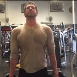 Alpha male posture exercises