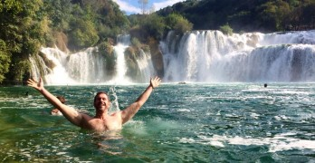 Krka waterfall croatia