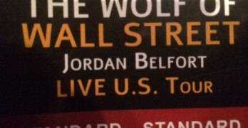 Wolf of Wall Street Seminar Ticket